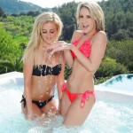 Candice Collyer And Steph Wright In The Jacuzzi - 1