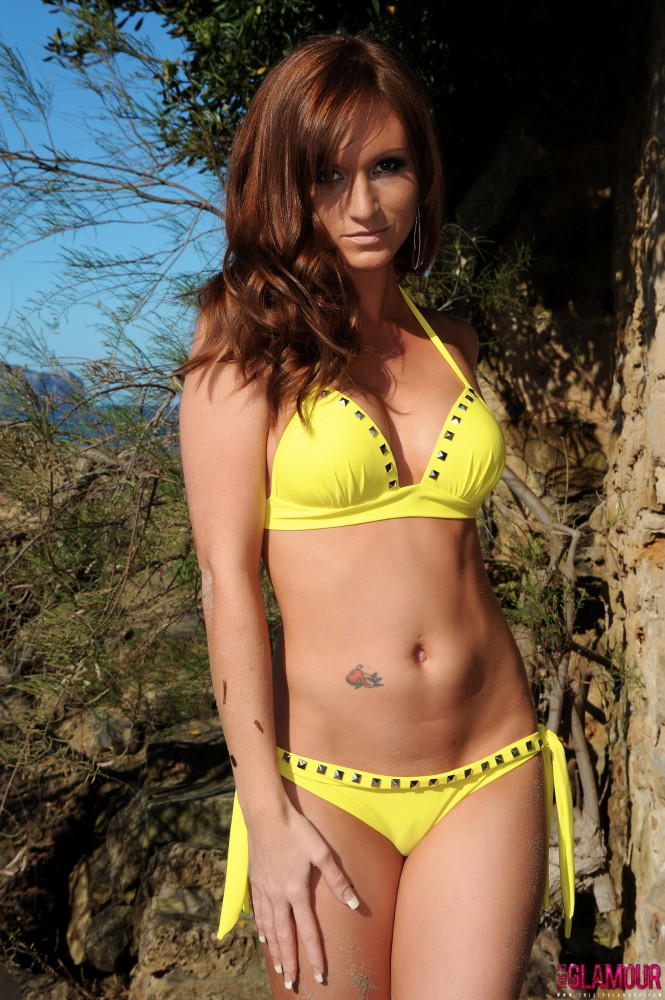 Carrie Spencer – Nude From Yellow Bikini