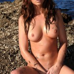 Carrie Spencer – Nude From Yellow Bikini - 23
