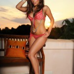 Chloe Saxon – Reb Bikini At Sunset - 1