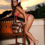 Chloe Saxon – Reb Bikini At Sunset - 4