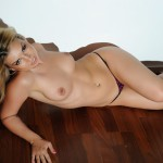 Daisy Dash – Daisy Strips Naked From Her Bra And G-string - 15