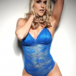 Kayleigh P – Blue Body Suit - 9