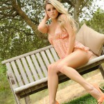 Rachel Mcdonald – Strips From Her Summer Dress In The Garden - 2