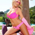Tommie Jo Strips Naked From Her Cute Pink Outfit - 12