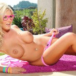 Tommie Jo Strips Naked From Her Cute Pink Outfit - 20