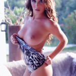 Chloe Goodman Stripping To Nude From Her Animal Bodysuit - 12