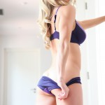 Kayleigh P – Purple Bra And Panties - 3