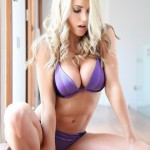 Kayleigh P – Purple Bra And Panties - 5