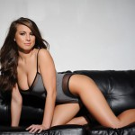 Sarah Mcdonald – Sarah Strips From Her Grey Bodysuit - 0
