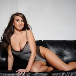 Sarah Mcdonald – Sarah Strips From Her Grey Bodysuit - 2