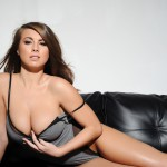 Sarah Mcdonald – Sarah Strips From Her Grey Bodysuit - 10