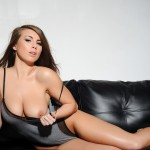 Sarah Mcdonald – Sarah Strips From Her Grey Bodysuit - 11
