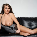 Sarah Mcdonald – Sarah Strips From Her Grey Bodysuit - 12