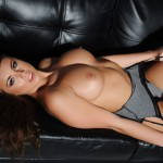 Sarah Mcdonald – Sarah Strips From Her Grey Bodysuit - 15