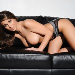 Sarah Mcdonald – Sarah Strips From Her Grey Bodysuit - 22