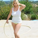 Lyla Ashby Playing With The Hose Getting Her Self Soaking Wet - 0