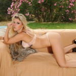 Rachel Mcdonald Gets Naked Outside On The Couch - 10