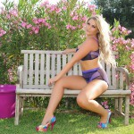 Siobhan Tedder – Purple Lingerie - 1