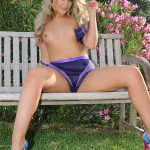 Siobhan Tedder – Purple Lingerie - 14