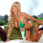 Tommie Jo – Stripping From Green Bikini - 3