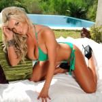 Tommie Jo – Stripping From Green Bikini - 6