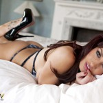 Kitty Lea On The Bed - 15