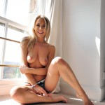 Becky Roberts – Topless By The Window - 16