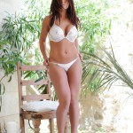 Flame Emmin – Flame Strips Naked From Her White Bikini - 3