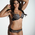 Kat Dee – Black Lingerie With Stockings - 2