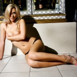 Sophia Knight – Black Bra - 13
