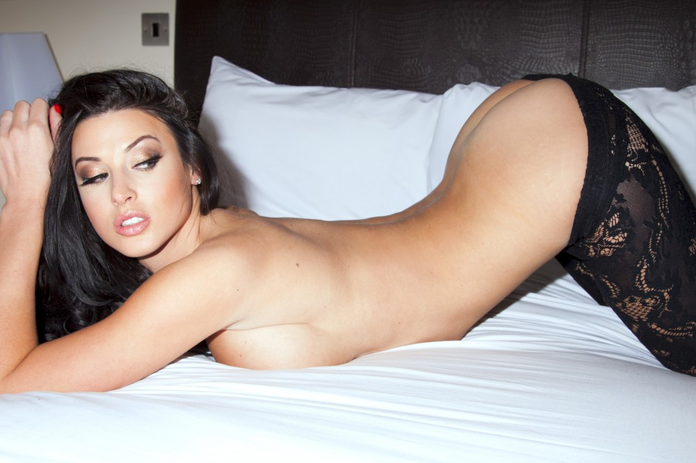 Alice Goodwin Sat Down Playing With Her Big Bangers