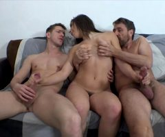 Abella Danger With 2 Cocks