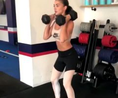 Amy Jackson – Hot Workout Gfy