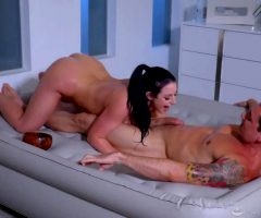 Angela White Sensual Sucking