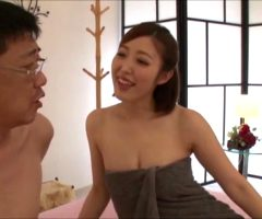 Asahi Mizuno – While Doggy-Style Fucking A Dispatch Masseuse Girl, I Peeled Off My Condom And Fucked Her And Now She's Writhing In Pleasure!