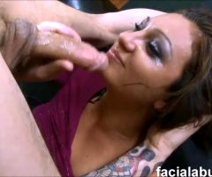 Beautiful Dasha Knox Gets Her Throat Pumped Full Of Cock