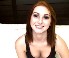 Cute 18 Yr Old Redhead Gets Her Tight Pussy Pounded