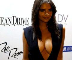 Emily Ratajkowski – Bursting Out