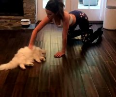 Kate Beckinsale Rubbing Her Pussy On The Floor