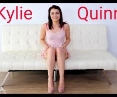 Kylie Quinn's First Threesome