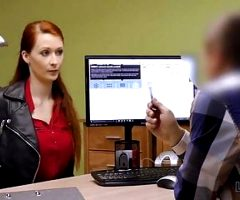 LOAN4K. Agent screws busty redhead because she really…