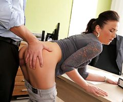 LOAN4K. Fraces likes new loan agent so agrees to fuck for…