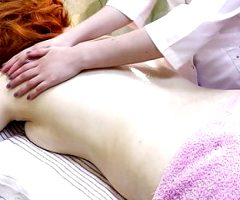 Massage for a redhead