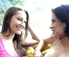 Petite Blonde Teen Stepsister Seduced By Lesbian Stepsister