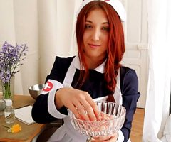 ROLEPLAY JOI (Fr + Eng. Subs) – The Daisy Nurse.