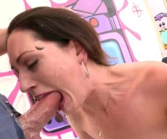 Sarah Shevon Gets Sloppy