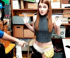 ShopLyfter – Shoplifting Teen Gets Punished