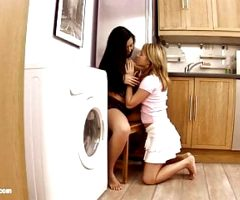 Shrima Malati and Lovita Fate in Full conversion lesbian
