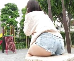 SWEET ASIAN TEEN TAKES HER PANTIES OFF FOR YOU
